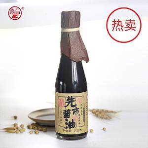 江苏四年熟成酱油单瓶210ml