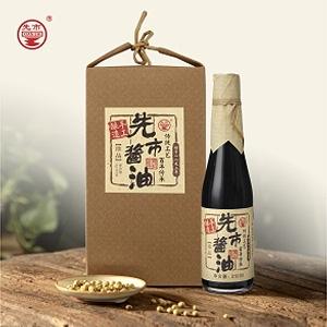 北京珍品酱油礼盒装(310ml×4)