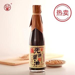 北京三年熟成酱油单瓶310ml