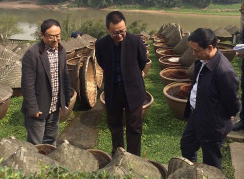 中国非物质文化遗产保护专家组到先市酿造厂考察调研